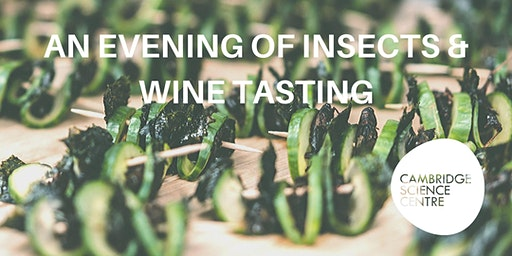 An evening of insects and wine tasting