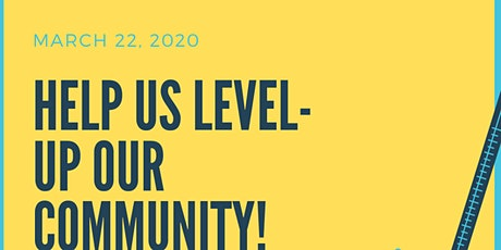 Level Up Our Community tickets