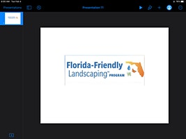 Florida Friendly Landscaping Intro Class