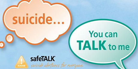SafeTALK Suicide Alertness  tickets