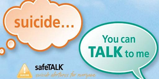 SafeTALK Suicide Alertness