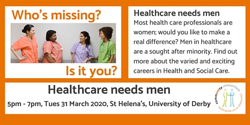 Healthcare Needs Men