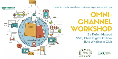 Omnichannel Virtual Chat with Rafeh Masood from BJ's Wholesale Club tickets