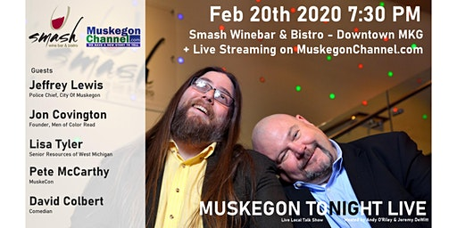 Muskegon Tonight Live - February 20th