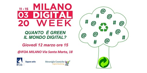 QUANTO  È GREEN IL MONDO DIGITAL?