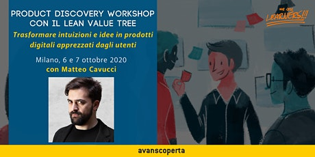 Product Discovery Workshop con il Lean Value Tree 2020 biglietti