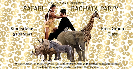 Safari Bachata Party tickets