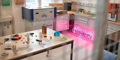 Lasercutter Intro-Workshop in der Life Science Factory