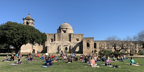Free Virtual Yoga at the Missions tickets