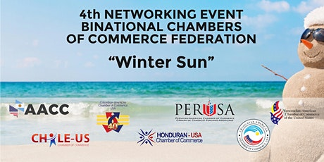 "4th NETWORKING EVENT BINATIONAL CHAMBERS OF COMMERCE FEDERATION ""WINTER SUN"" tickets"