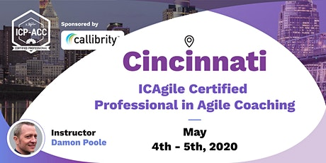 Agile Coach Workshop with ICP-ACC Certification Cincinnati May 4-5 tickets