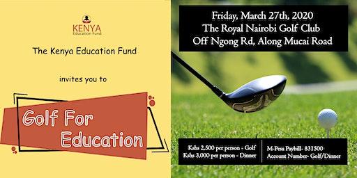 Kenya Education Fund Golf For Education
