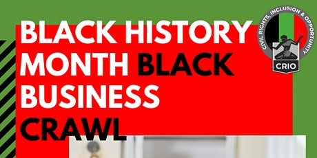 Black Business Crawl tickets