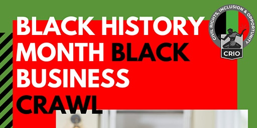 Black Business Crawl