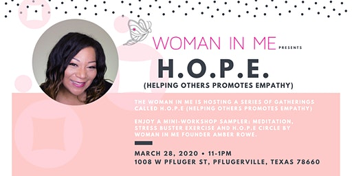 Woman In Me | H.O.P.E. Gatherings