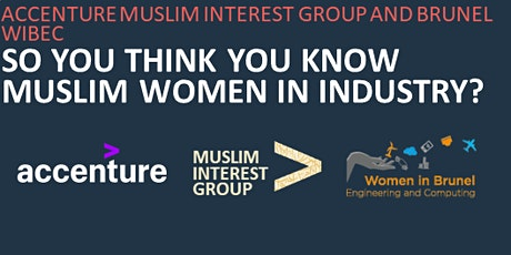 Empowering Young Muslim women in the workplace led by Accenture - IWD 2020 tickets