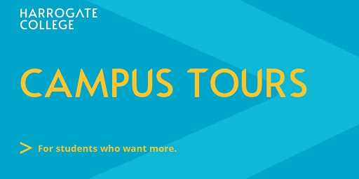 Harrogate College Holiday Campus Tours