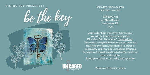 Bistro 501 Presents: Be The Key