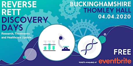 Reverse Rett Discovery Day @ Thomley Hall tickets