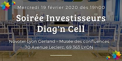Soirée investisseurs Diag'n Cell – Lyon