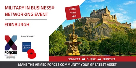 Military in Business Networking Event - Edinburgh tickets