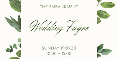The Embankment September Wedding Fayre