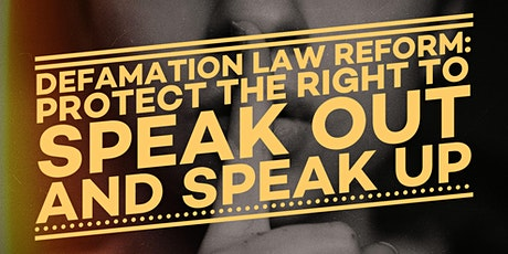 DefamationScot: Keeping Free Speech Free tickets