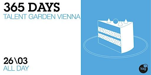 SAVE THE DATE |365 Days of Talent Garden Vienna