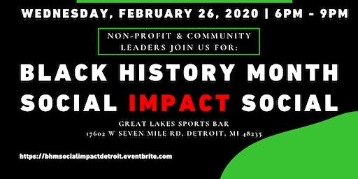 Black History Month Social Impact Social