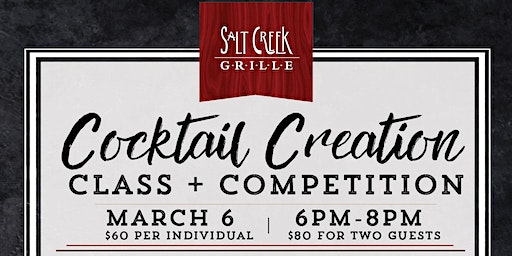 Cocktail Creation Class & Competition