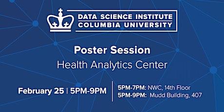Workshop & Poster Session: Health Analytics Center tickets