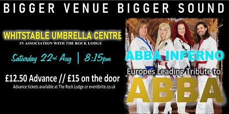 ABBA Inferno (ABBA Tribute) live in Whitstable tickets