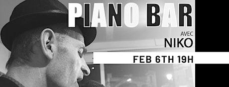 Piano Bar with Niko billets