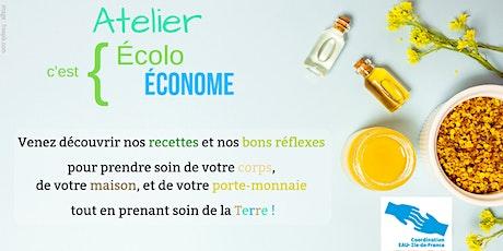 Atelier Ecolo c'est Econome au Kiosque Citoyen 12 billets