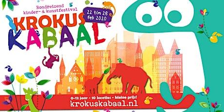 Krokus Kabaal: Beestenhuis bouwen (7+) tickets