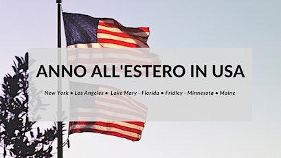 Anno all'estero in USA biglietti