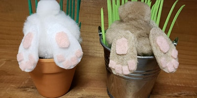 CRAFTING: Springtime Bunny Pots with Nick Jackson