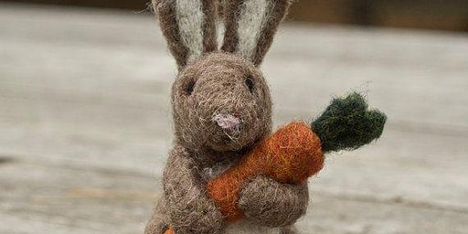 Needle Felting Bunny Part Two