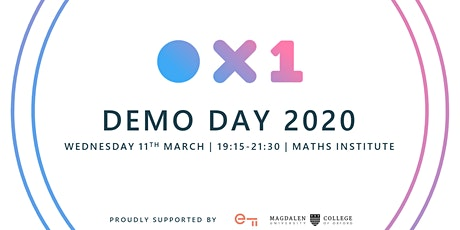 OX1 Incubator Demo Day 2020 tickets