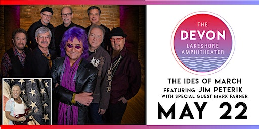 The Ides of March featuring Jim Peterik with special guest Mark Farner