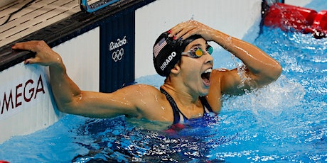 Olympian Maya DiRado BREAKOUT Swim Clinic for Wilton Y Wahoos, 9-12pm  ages 11&under, 11am-2pm ages 12&over, only $65! tickets