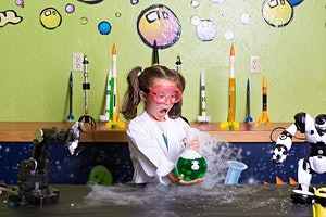 Atelier science en folie / Mad Science Workshop (presented in English)