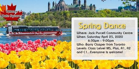 Ottawa Date Squares Spring Dance 2020 billets