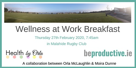 Wellness at Work Breakfast tickets