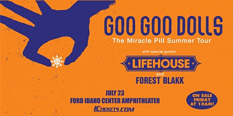 Goo Goo Dolls with Lifehouse tickets