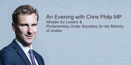 An Evening with Chris Philp MP tickets