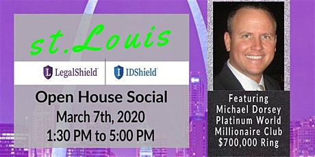 St. Louis LegalShield Social Open House tickets