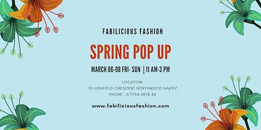 Fabilicious Fashion Spring Pop Up