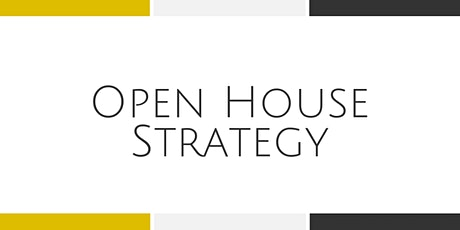 Open House Strategy - Arlington tickets