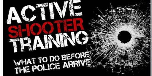 Active Shooter Awareness Training - Afternoon Program